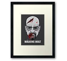The Walking Walt Framed Print
