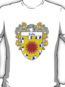 Solis Coat of Arms/Family Crest T-Shirt