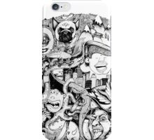 Intricate detailed circle iPhone Case/Skin