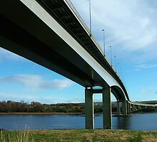 Foyle Bridge by Adrian McGlynn