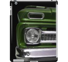 Big in green iPad Case/Skin