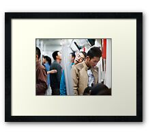 Sleepless in Bejing Framed Print
