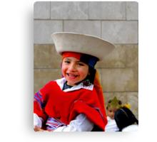 Cuenca Kids 352 Canvas Print
