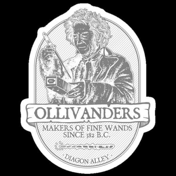 Ollivanders fine wands by Azafran