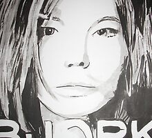 Bjork by Colin  Laing