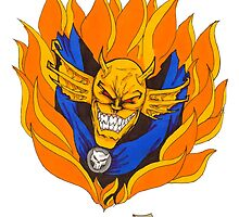 Etrigan on Fire by Demorta