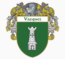 Vazquez Coat of Arms/Family Crest by William Martin