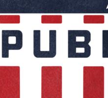 Vintage Royale Republic Gasoline Sticker