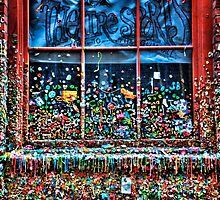 Seattle Gum Wall by Spencer McDonald