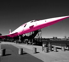 Pink Concorde by Rob Hawkins