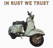 Vintage Vespa from italy Kids Clothes