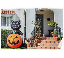 Halloween Cat! Poster