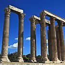 Temple of Zeus by Barbara  Brown