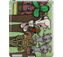 Teddy Bear And Bunny - The Games Not Over iPad Case/Skin