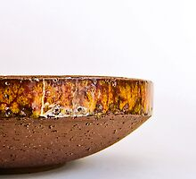 Orange Stoneware by Ray Garrod