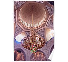 Mosque Chandelier Poster