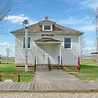 The Local School, Hardin Montana USA by AnnDixon