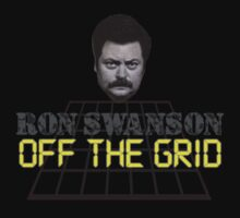 Ron Swanson- Off the Grid by inesbot