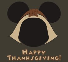 Minnie Mouse Thanksgiving Pilgrim by sweetsisters