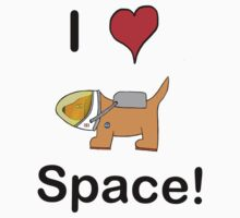 Sneaky Dog in Space! Kids Clothes