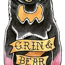 Grin and Bear It by Seahorse Carousel