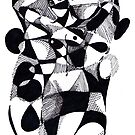 'FRAGMENTED NUDE' #1  by Jerry Kirk
