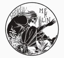 Aubrey Beardsley - Merlin by William Martin