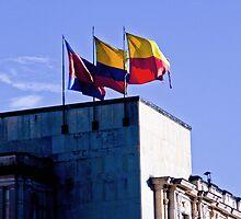 Monument of flags. by ALEJANDRA TRIANA MUÑOZ
