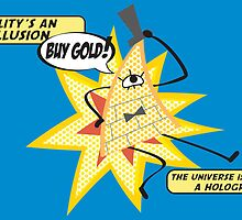 Bill Cipher -- Pop Art by taxdollars