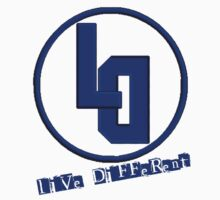 Live Different Blue Style  by TheLD