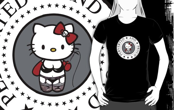 Hello Perverted Kitty by tshirtsfunny