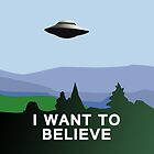 I want to believe iPad case by Sarah  Mac