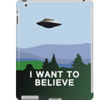 I want to believe iPad case iPad Case/Skin