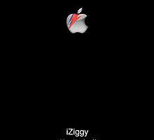 iZiggy, the Bowie iPhone (Black) by ChloeJade