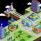 Pixel Town by slynord