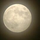 Hazy Moon by dge357