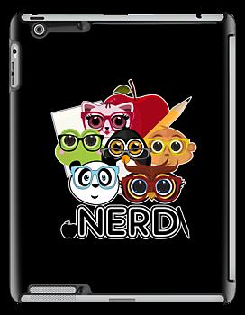 Nerd 3 - Black by Adamzworld