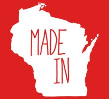 Made in Wisconsin - White Kids Clothes
