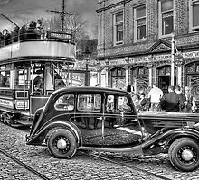 Paisley District Tram - Black and White by © Steve H Clark