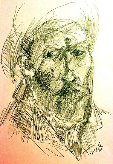 drawing of vincent VG by catullus