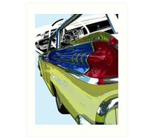 Mercury County Cruiser Art Print