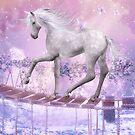 pink unicorn by Ancello