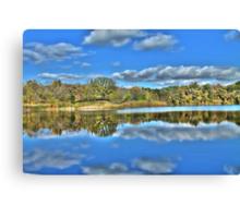 Autumn at the Lake 3 Canvas Print