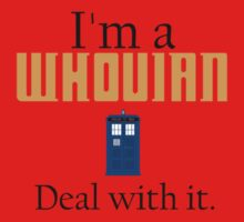 Deal with it: Doctor Who Kids Clothes