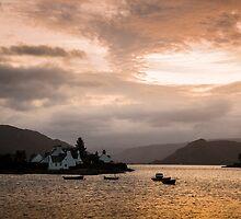 Plockton Sunrise by David Lewins