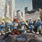 Mosaic: The Smurfs by Mark Chandler