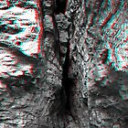 Rock Crevice - 3D by Dan Owens