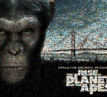 Mosaic: Rise of the Planet of the Apes by Mark Chandler