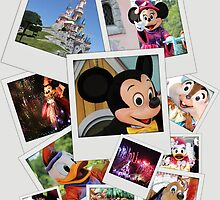 Disneyland Paris - Disney Polaroid by HeloiseDiez