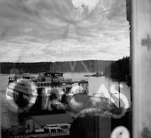Orcas Island Ferry by Rebecca Lefferts